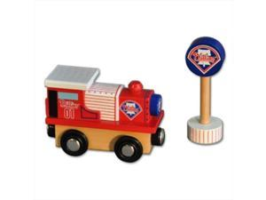 PPW Toys All Star Express MLB Wood Train, Engine - Philadelphia Phillies