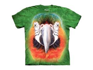 The Mountain 1038360 Big Face Parrot T-Shirt - Small