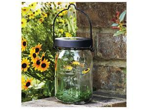 Echo Valley 4570-8 Solar Firefly Glass Jar - Pack Of 8