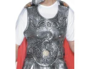 Smiffy s USA 19728 Roman Armour Breast Plate Adult Rubber