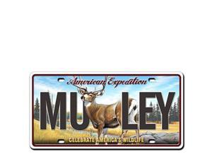 Ideaman LMAG-123 License Magnet - Mule Deer