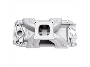 EDELBROCK 2904 Victor Junior Aluminum Intake Manifold - Oval