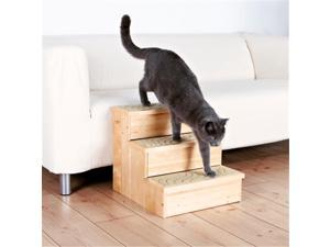 TRIXIE Pet Products 3943 Wooden Pet Stairs - Natural