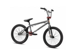 Mongoose M8143 Boys Uni Freestyle Legion L40 Bicycle, Matte Grey - 20 in.
