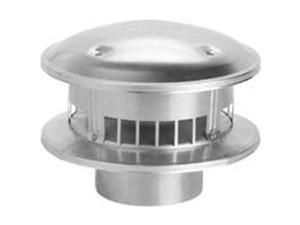 Selkirk 105800 Round Gas Vent Top, 5 In.