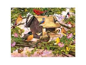 White Mountain Puzzles WHITE1014 Breakfast Club 1000 piece Puzzle