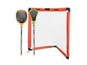 Franklin Sports 60015 Sports - Youth Lacrosse Goal & Stick Set