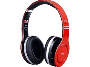 MiiKey Rhythm Bluetooth Stereo Headphones - Red