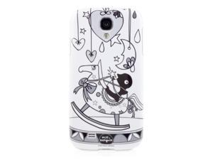Bone Collection PHS-HOR Hard Case for Samsung S4, Duck On Rocking Horse