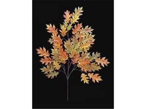 Autograph Foliages PR-4692 - 29 Inch Fire Retardant Pin Oak Branch - Orange - Dozen