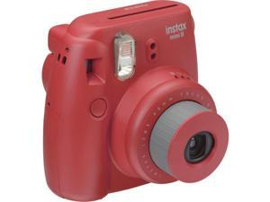 Fuji Film USA 16443917 Instax Mini 8 Instant Film Camera, Raspberry
