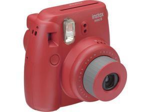 Fuji Film USA 16443917 Instax Mini 8 Instant Film Camera, Raspberry