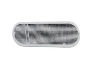 Ll Building Products EAP412W 4 x 12 in. Oval Soffit Vent, White