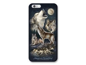 Ideaman PHN6-306 iPhone 6 Cover, Gray Wolf Collage