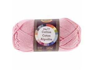Lion Brand 761-101 24&7 Cotton Yarn - Pink