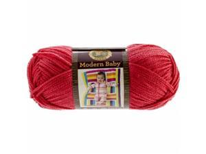 Lion Brand MB924-113 Modern Baby Yarn-Red