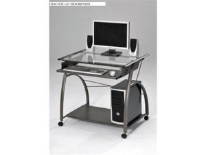 Acme Furniture Industry 00118 Vincent Computer Desk in Silver