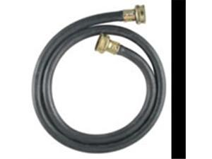 Ldr Industries 504 1200 6 ft. Rubber Washing Machine Inlet Hose