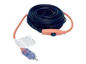Macklanburg-Duncan 4341-12 M-D Pipe Heating Cable with Thermostat, 12 ft.