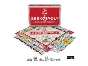 Late for the Sky GEEK Opoly Board Game - Geek