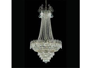 Majestic Collection 1487-HB-CL-MWP Sold Cast Brass Ornate Crystal Chandelier