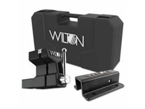 Wilton 825-10015 All-Terrain Vise With Carrying Cases, Stationary, 6 in. Jaw & 5 in. Throat