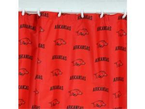Comfy Feet ARKSC Arkansas Printed Shower Curtain Cover 70 in. X 72 in.