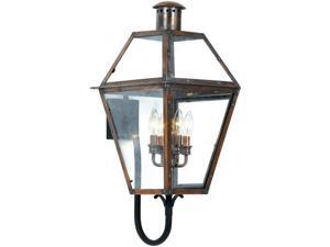 Quoizel Rue De Royal Traditional Copper Extra Large Wall Lantern
