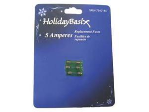Holidaybasix U14Z103A 5A Replacement Fuses