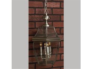 Quoizel Newbury Traditional Pewter Extra Large Hanging Lantern
