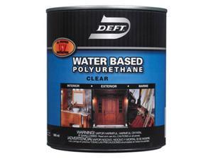 Deft DFT259-01 Water Based Satin Polyurethane, Pack Of 4
