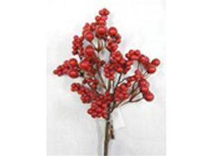 Gerson 2245330TV 6 in. Mix Red Berry Pick, Pack of 12