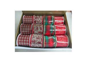 Gerson 2245380TV 2.5 in. x 3 Yd. Ribbon Roll, Pack of 12