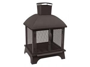 Landmann Redford Outdoor Fireplace - Black