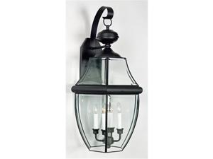 Quoizel Newbury Traditional Black Extra Large Wall Lantern