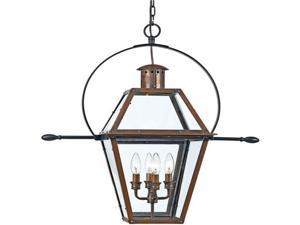 Quoizel Rue De Royal Traditional Copper Extra Large Hanging Lantern