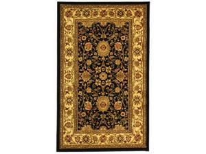 Safavieh LNH212A-214 2 ft. 3 in. x 14 ft. Runner Lyndhurst Black & Creme Traditional Rug