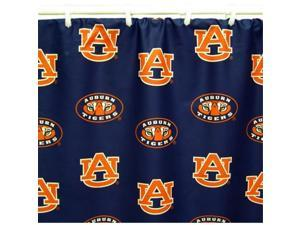 Comfy Feet AUBSC Auburn Printed Shower Curtain Cover 70 in. X 72 in.