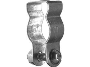 Halex 67840 Conduit Hanger With Carriage Bolt & Nut, Pack Of 10
