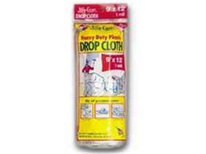 Warp Brothers Cloth Drop Plastic 1Mil 9X12Ft JC-9124