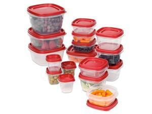 Rubbermaid 1779216 Easy Find Lid Set, 34 Piece