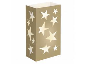 JH Specialties 47024 Luminaria Bags - Standard Stars 24 Ct