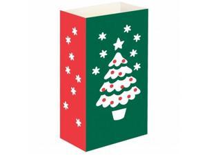 JH Specialties 48324 Luminaria Bags - Standard Christmas Tree 24 Ct