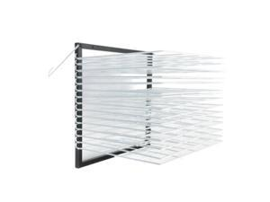 American Educational Products A-C1160 Wall Mounted, Drying Rack