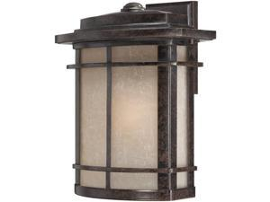 Quoizel GLN8412IBFL 1 Light Outdoor Wall Lantern - Imperial Bronze