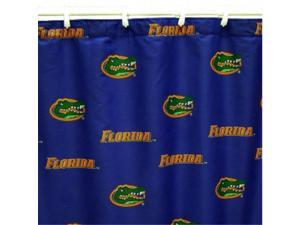 Comfy Feet FLOSC Florida Printed Shower Curtain Cover 70 in. X 72 in.
