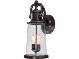 Quoizel SDN8409IBFL 2 Light Outdoor Wall Lantern - Imperial Bronze