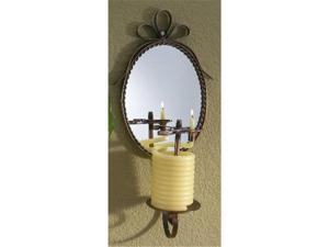 Candle By The Hour 20620B 36 Hour wall mirror Coil Candle