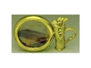 Mayer Mill Brass - GBF-1 - Golf Bag Picture Frame