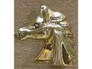 Mayer Mill Brass HSDP-C Show Horse Head Drawer Pull - Chrome